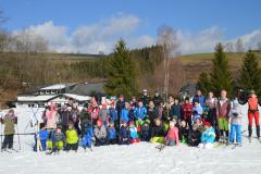 Schneeporttag in Westfeld